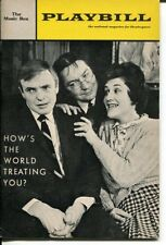 Patricia Routledge How's The World Treating You? 1966 Opening Night Playbill