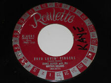 Jimmy Bowen Ever Lovin' Doigts 45 I'M Stickin' VG