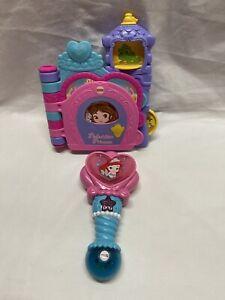 Fisher Price Disney Peek A Boo Princess Talking Interactive Baby Toy Book + Wand