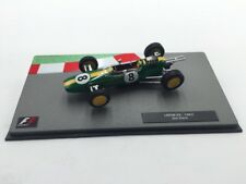 lotus 25-1963 jim clark 1/43 panini collection formule 1 neuf socle plexi