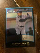 ICHIRO Suzuki 2001 Bowman Chrome RC🇯🇵 Japan  Seattle Mariners RE PRINT ROOKIE