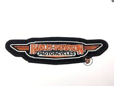 HARLEY DAVIDSON MOTORCYCLE JACKET 9 INCH PATCH VEST * DISCONTINUED * LARGE