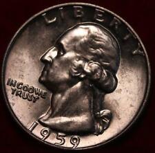 Uncirculated 1959 Philadelphia Mint Silver Washington Quarter