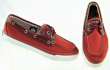 SPERRY Top Sider Bahama Ballistic STS13138  Red Nylon Men's Sneakers US 10.5 M