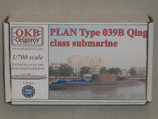 OKB Grigorov 1/700 Scale Resin Chinese PLAN Type 039B Qing Class Submarine