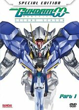 Mobile Suit Gundam 00: Season 2 Part 1 DVD 2-Disc Set with Manga, NEW & Sealed!