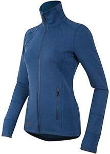 EUC Pearl Izumi Women's Zip Escape Thermal Long Sleeve Jacket Blue - M ($120)