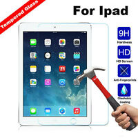 9H Tempered Glass Screen Protector for Apple iphone&iPad 4 3 2&Mini &Air New H