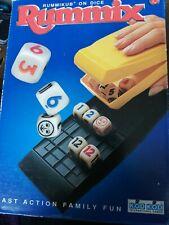 RUMMIX - travel rummikub on dice! 1999 dice sealed all paper new