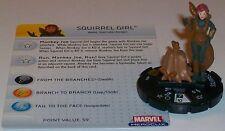 SQUIRREL GIRL #056 #56 Captain America HeroClix Super Rare
