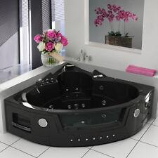 Modern Whirlpool Shower Spa Corner Bath Jacuzzis Double End Bathtub 6148B 1350MM