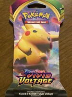 1x Booster Pack - Pokemon Sword And Shield VIVID VOLTAGE BNIP NEVER WEIGHED NEW!