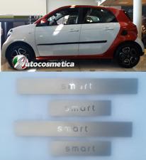 4 Battitacchi in acciaio protezione soglie- 4PZ DX+SX Smart ForFour C 453 DAL 15