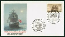 MayfairStamps Germany Unsealed 1983 German Immigration Anniversary Fleetwood Fir