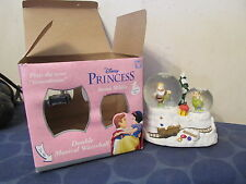 Disney Store exclusive Snow White Princess Double musical waterball globe IN BOX