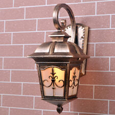 Outdoor Wall Lights Vintage Wall Lamp Garden Glass Wall Sconce Hallway Lighting
