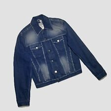 Versace Denim JacketMade in Italy Size Small