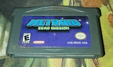 Metroid Zero Mission (GBA) Authentic Cart! Tested! Fast Shipping! Saves
