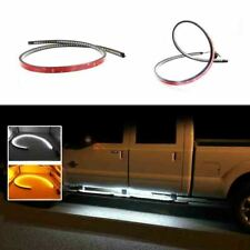"""White/Amber Dual Color 48"""" LED Truck Running Board/Step Ambient Lighting Strips"""