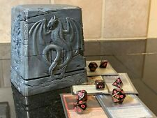 COMMANDER Dragon Knight Tomb Deck Box | Magic the Gathering Deck Box | Personali