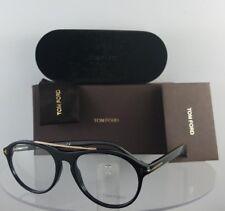 d28c105564fa Brand New Authentic Tom Ford Eyeglasses FT TF 5411 001 53mm Black Gold Frame