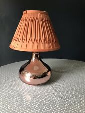Copper Lamp And Lampshade