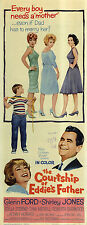 THE COURTSHIP OF EDDIE'S FATHER Movie POSTER 14x36 Insert Glenn Ford Shirley