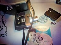 Bell & Howell , optronic eye, autoload 8mm movie camera< model 418______vintage