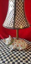 MacKenzie Childs Pigadilly Piggy Lamp 2009 # 13200-000 RETIRED!!!