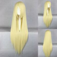 Ladieshair Cosplay Wig Perücke blond 80cm glatt loveless AGATSUMA SOUBI F7T
