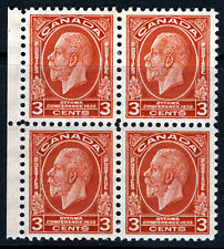 CANADA King George V 1932 Three Cents Ottowa Conference BLOCK SG 315 MINT