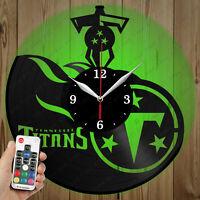 Details about  /LED Vinyl Clock Camping LED Wall Art Decor Clock Original Gift 6146
