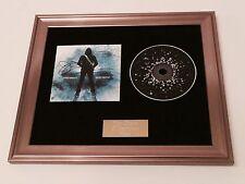 SIGNED/AUTOGRAPHED JOE SATRIANI - SHOCKWAVE SUPERNOVA FRAMED CD PRESENTATION.