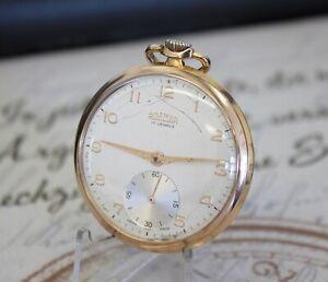 Rare ROAMER SWISS MADE Taschenuhr 17 Jewels pocket watch