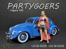 American Diorama 1:24 Scale Figure 7.5 cm * Partygoers VIII * AD-38328