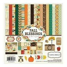 Carta Bella Collection Kit 12Inchx12inch Fall Blessings