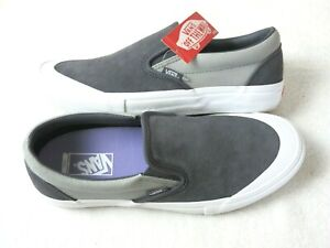 Vans Mens Slip on Pro Periscope Drizzle Canvas Suede Skate shoes Size 9.5 NWT