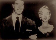 Marilyn Monroe Joe DiMaggio 1954 Vintage Press Photo Club El Morocco Date Stamp