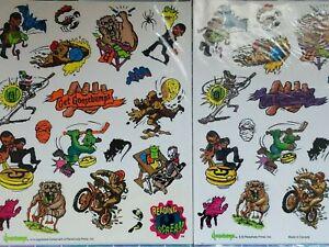 Vintage Goosebumps Stickers  2 sheets