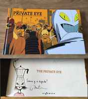 THE PRIVATE EYE HAND DRAWING SIGNED MUNTSA VICENTE MARCOS MARTIN COMIC MARVEL
