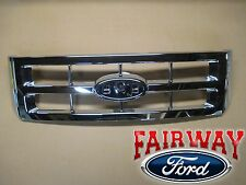08 thru 12 Escape OEM Genuine Ford Parts Chrome Grille Grill without Emblem NEW
