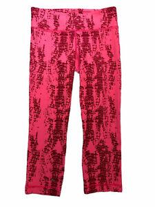 S Under Armour Women's Pink Leggings All Season Crop