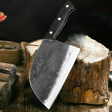 Hunters Serbian Chef Steel Kitchen Handmade Forged High-carbon Clad Knife W/ Box