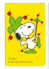 "Single Playing Cards Peanuts, ""Jolly Jokers"" Hallmark 1001 A"