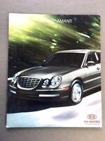 2007 Kia Amanti Original Canada Car Sales Brochure Catalog