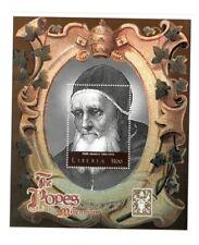 Liberia 2000 - The Popes Of The Millennium - Pope Julius II -  S/S MNH