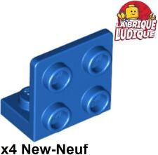 Lego 4x Bracket support 90° 1x2-2x2 jaune//yellow 44728 NEUF