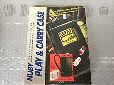 VINTAGE# NINTENDO Nuby Play and Carry Case Game Boy GAMEBOY#NIB