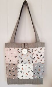 Make your own Quilted Patchwork Tote Bag Kit Horses, Sheep, Pigs and Cows