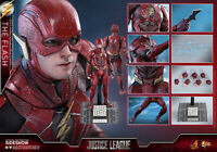 DC Hot Toys Justice League The Flash Ezra Miller Barry Allen 1/6 Figure In Stock